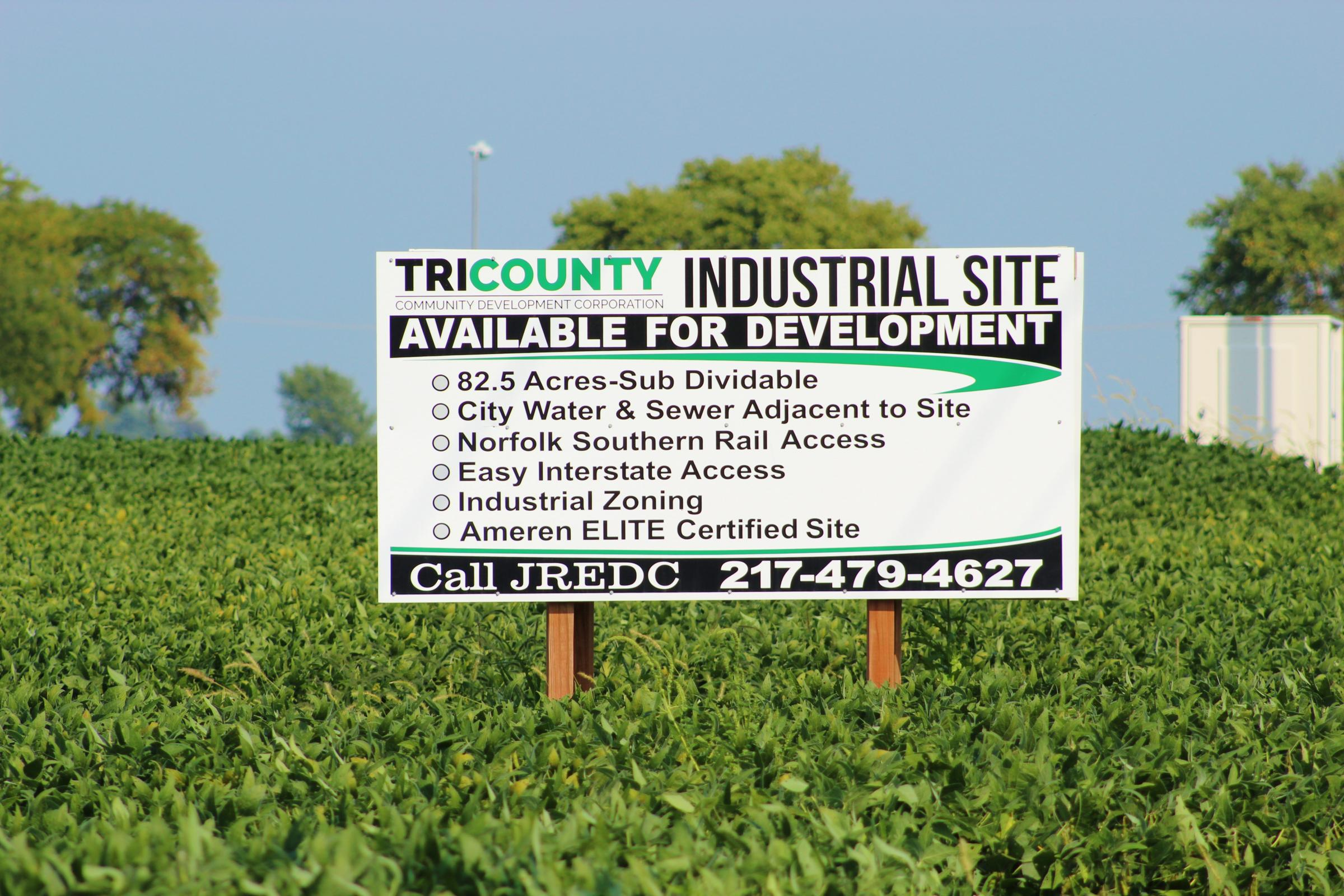 Jacksonville available industrial sites